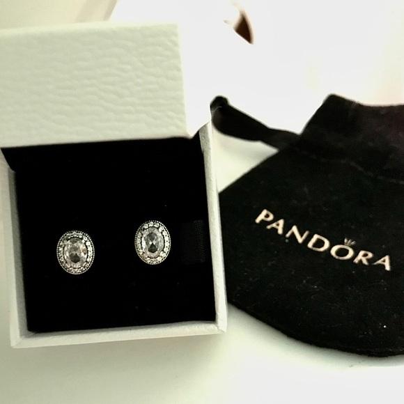 Pandora Vintage Elegance Earrings in Box
